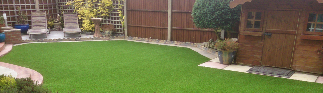 Artificial Grass installation in Backyards