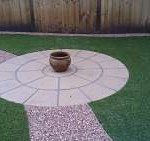 design your lawn with artificial grass