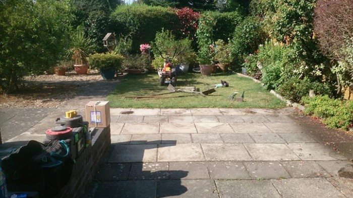 Before - Artificial Grass installation and garden flooring services by Artificial Style Dorset