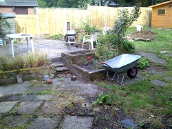 Parkstone landscaped before