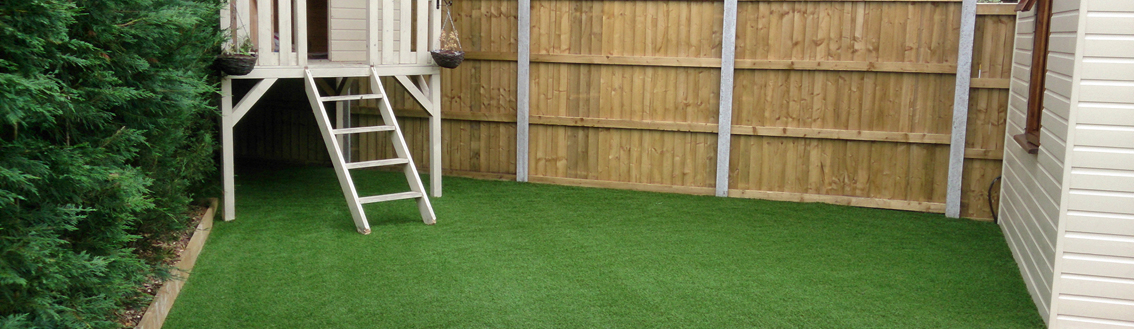 artificial grass landscaping services UK