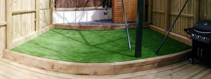Artificial Grass for Residential landscaping - Roof Gardens, lawns & Patios