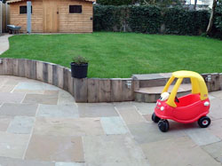 Parkstone landscaped after